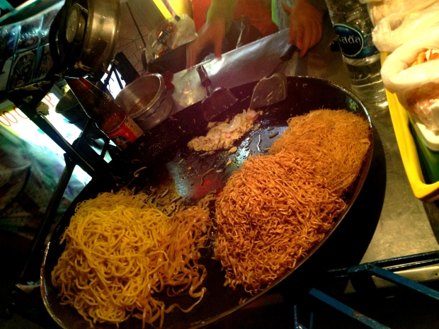 Yummy noodles from Khao San road.