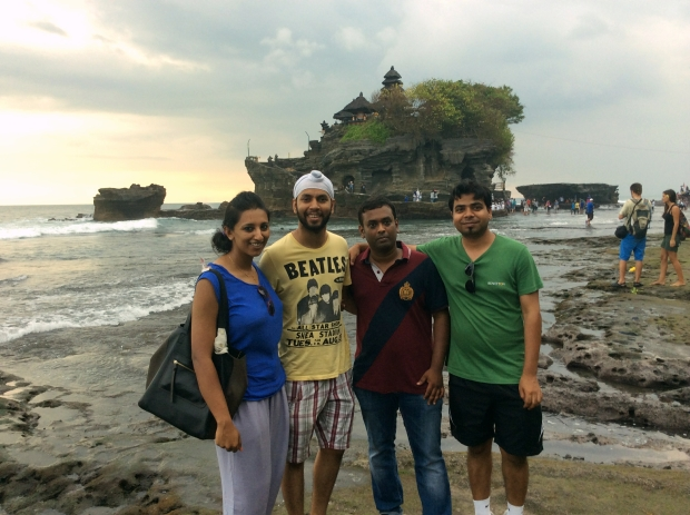 Us at Tanah Lot Temple