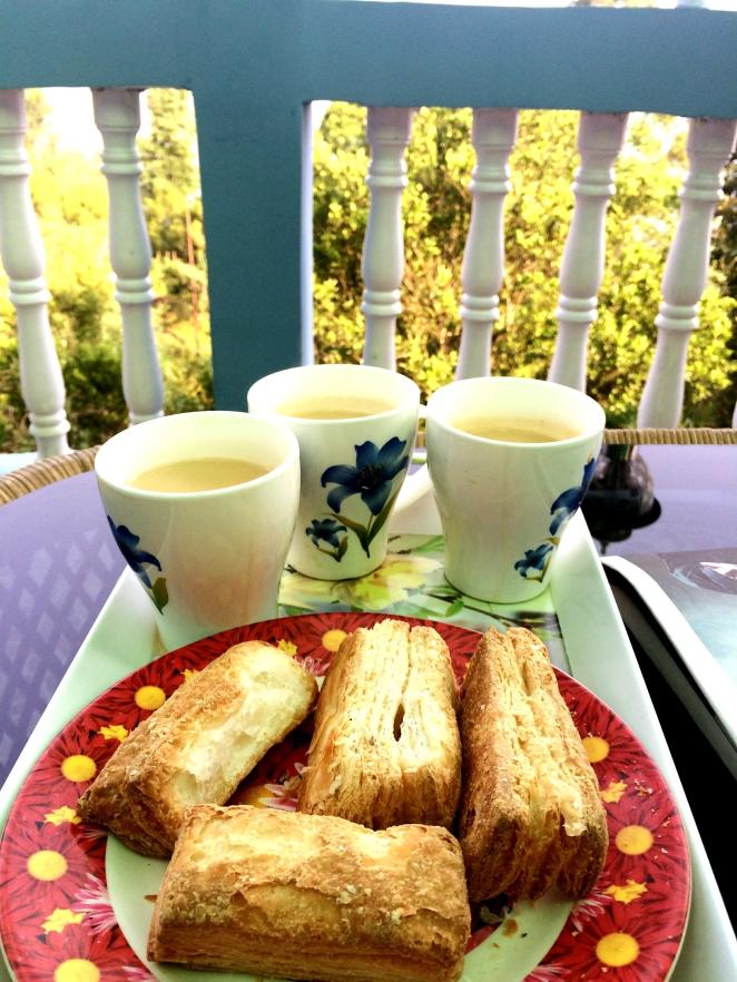 Takdah morning tea!