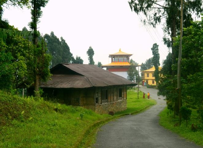 The old Rumtek Monastery in Sikkim.