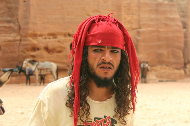 A man from Petra