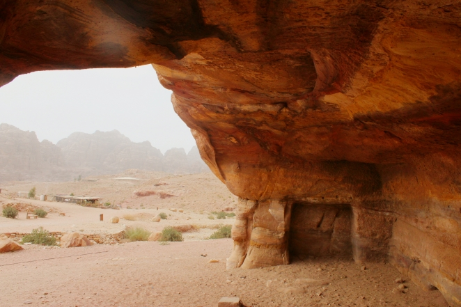 Earlier Abode of the people of Petra