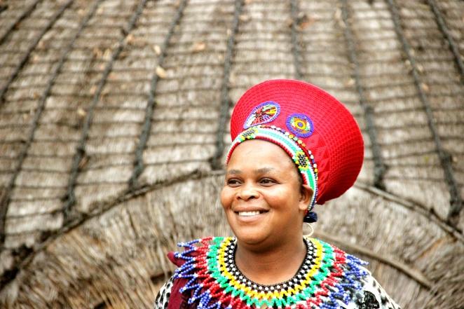 lesidi village- different tribes.