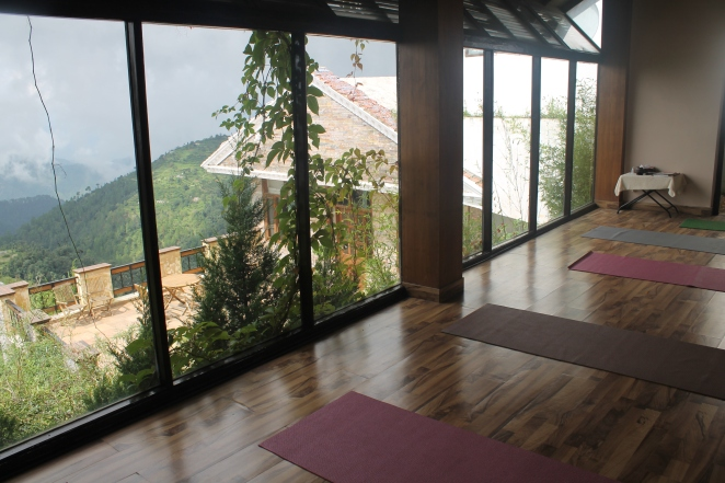 Our Yoga retreat at The Terraces